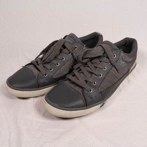 Original Penguin Mission Leather Lace Up Sneakers